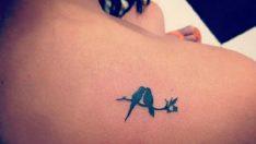 Bayanlar İçin Küçük Dövme Modelleri Tattoo
