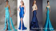 Dikkat Çeken Mavi Abiye Modelleri ve Gece Elbiseleri