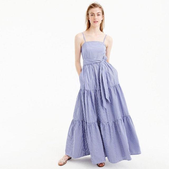 En Trend Yazlık Uzun Elbise Kombinleri