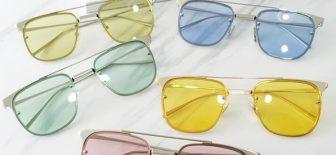 Güneş Gözlüğü Modasında Yeni Trend; Şeffaf Güneş Gözlükleri