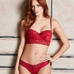 Kırmızı İç Çamaşırı Modelleri Seksi Dantelli İç Giyim