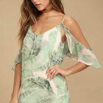 Omzu Açık Elbise Tül Detaylı Yazlık Elbise En Şık Kısa Elbise Modelleri 2018