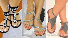 Yazın Vazgeçilmezi Parmak Arası Sandalet Modelleri
