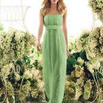 En Şık Gece Kıyafetleri 2018 Abiye Elbise Omzu Açık Uzun Yeşil