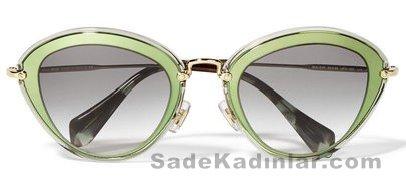 Şeffaf Güneş Gözlükleri miu miu_230 Euro