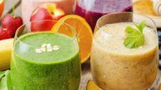 Sıcak Havalarda Ferahlatan Sağlıklı İçecekler İle Detoks Etkisi