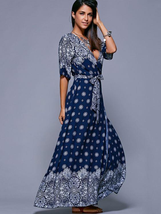 Şık Yazlık Elbise Kombinleri, Uzun Elbiseler