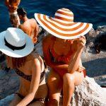 Yaz Ateşi En Şık Hasır Şapka Kombinleri