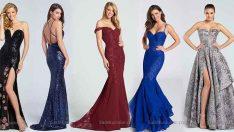 2018 Abiye Elbise Modelleri En Zarif Uzun Gece Elbiseleri