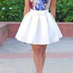 2018 Abiye Elbise kabarık etek mini