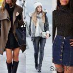 2020 Bayan Kış Kombinleri İle Sokakta Şık Olun