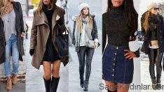 2018 Kış Modası Giysileri En Şık Sokak Modası Trendleri