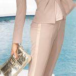 2021 Ofis Kombinleri Bayan Takım Elbise Vizyon Pantalon ve Ceket Spor Takım