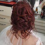 Gelin Saçı Dağınık Topuz Muhteşem Gelin Saç Modelleri