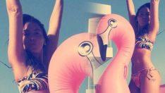 Hadise'nin Bikinili Pozu Sosyal Medyayı Yerinden Oynattı