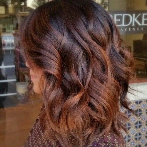 Koyu Kumral Saç Rengi ve En Güzel Bayan Saç Kesim Modelleri