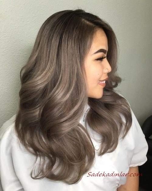 Kumral Saç Rengi ve En Güzel Bayan Saç Kesimleri