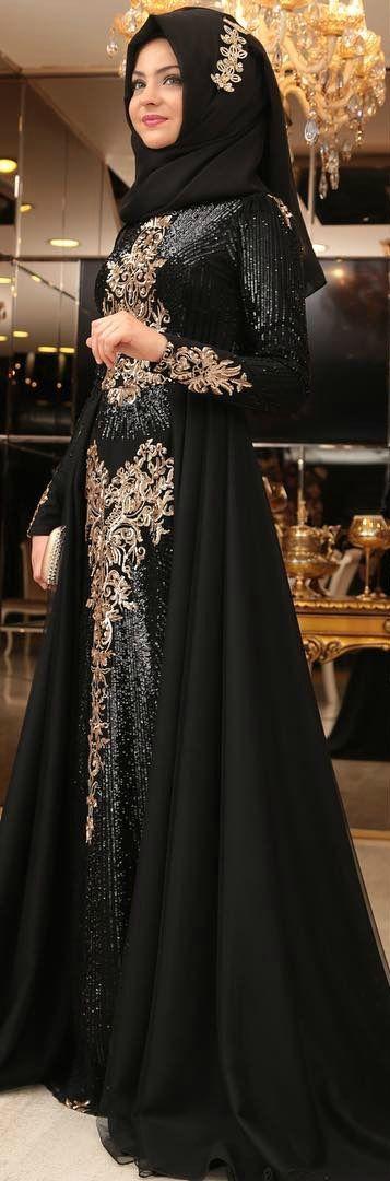 6fab1e6491091 Tesettür Abiye Modelleri Düğün ve Özel Geceleriniz İçin Elbise ...