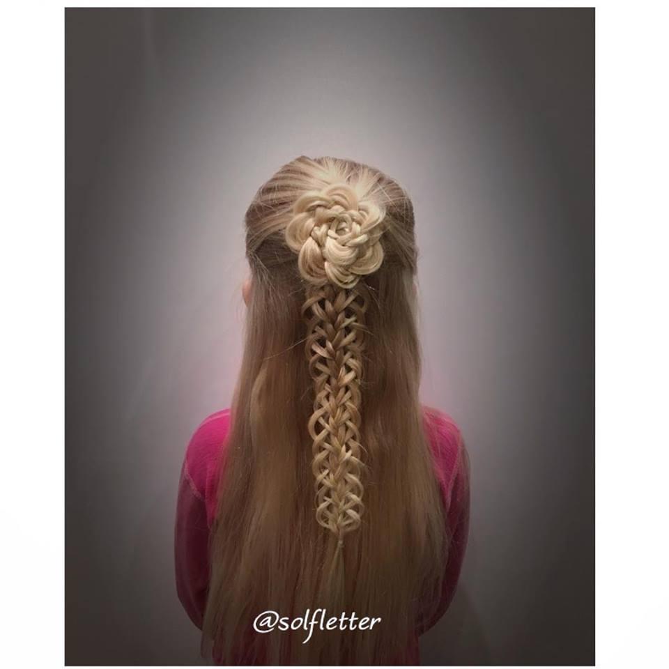 2019 Kız Çocuk Saç Modelleri