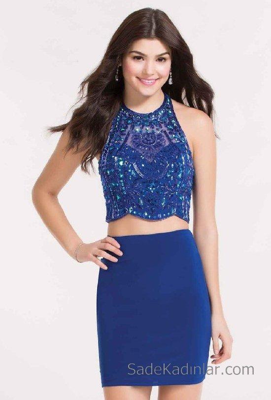 6228514b01c0f Kısa Mezuniyet Elbiseleri Genç Abiye Elbise Modelleri 2018 ...