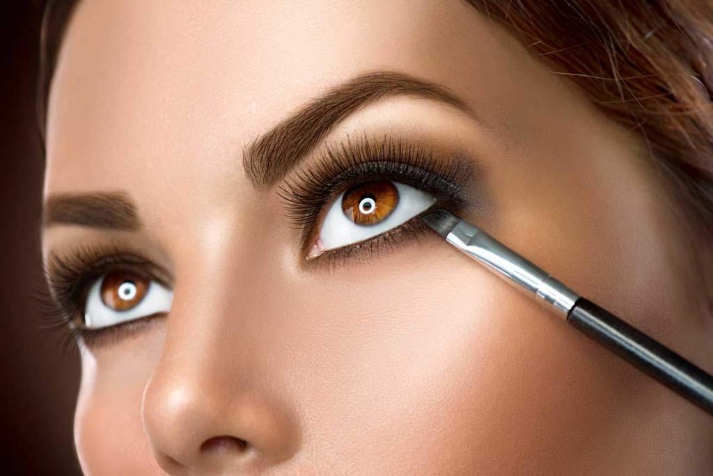 kahverengi göz makyajı