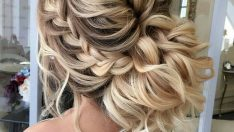 Örgülü Topuz Saç Modelleri Abiye İçin En Güzel Topuzlar