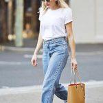 Sokak Modası Minyon Kadınlar İçin Kıyafet Kombinleri