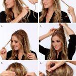 Uzun Saç Modelleri Evde Kolay Saç Modelleri Yapılışı