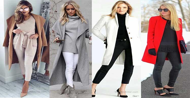 2019'de En Son Sonbahar Kış Günlük Giyim Modası Ve Modelleri 49