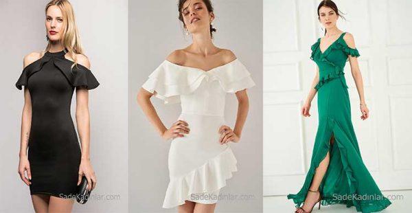 2018 Abiye Elbise Modelleri İle Gecenin En Güzel Ve Şık Kadını Siz Olun!