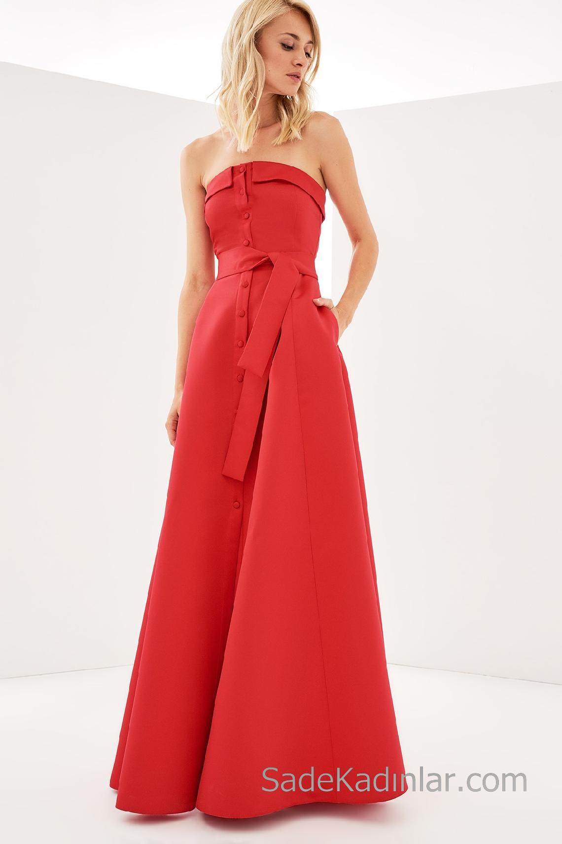 Kilolu Bayanlar İçin Söz Elbisesi Modelleri 2019