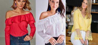 2018 Bluz Modelleri İle Kombinleriniz Şık Bütün Gözler Üzerinde Olsun!