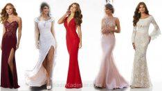 2018Gece Elbiseleri Dikkat Çekici Uzun Zarif Abiye Modelleri