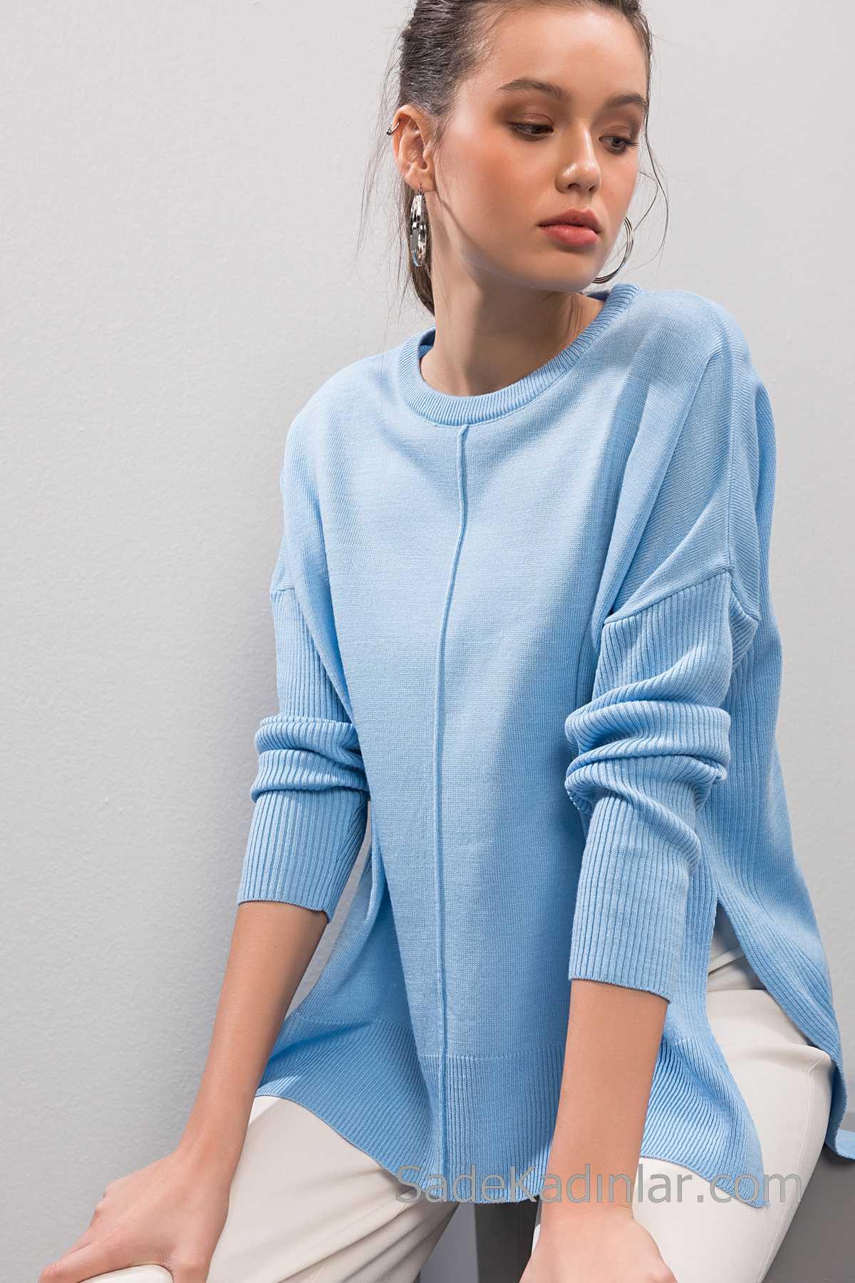 2019 Modası Kazak Modelleri