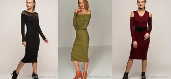 2018 Kışlık Elbise Modelleri İle Gözler Yine Üzerinizde Olacak!