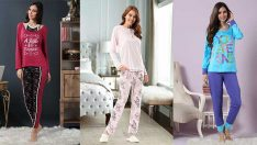 2018 Pijama Takımları İle Şıklığın Ve Rahatlığın Keyfini Çıkarın!