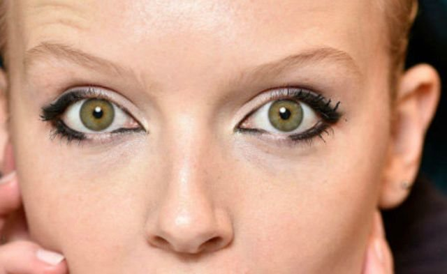 Büyük Gözler İçin Göz Makyajı