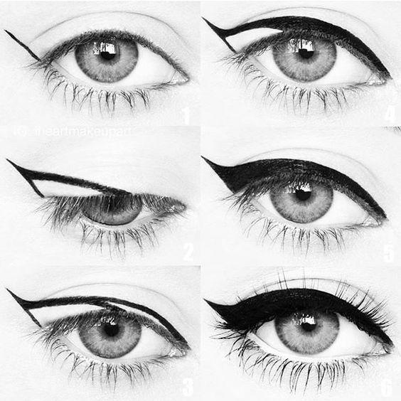 Eyeliner Nasıl Çekilir İşte Püf Noktaları