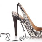 Hotiç Ayakkabı Modelleri Siyah Beyaz opuklu Arkadan İp Bağcıklı