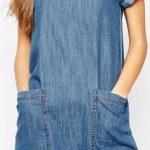 Kot Elbise Modelleri Kısa Kollu Kısa Büyük Cepli