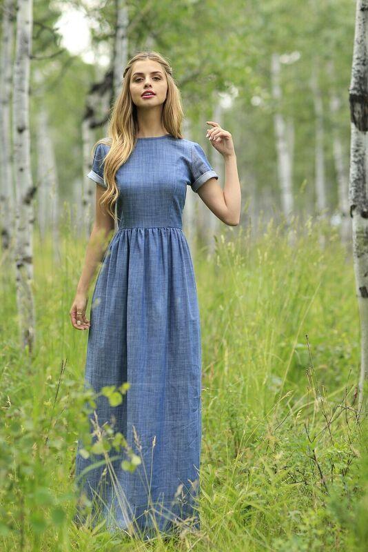 be1167a47035f Kot Elbise Modelleri Kısa Kollu Uzun Bol Etek | SadeKadınlar ...