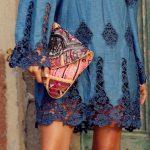 Kot Elbise Modelleri Omzu Açık Kısa Dantelli