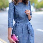Kot Elbise Modelleri Uzun Kollu Kısa Sade ve Şık
