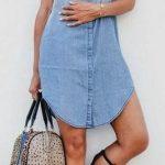 Kot Elbise Modelleri Yakalı Kısa Gömlek Modeli