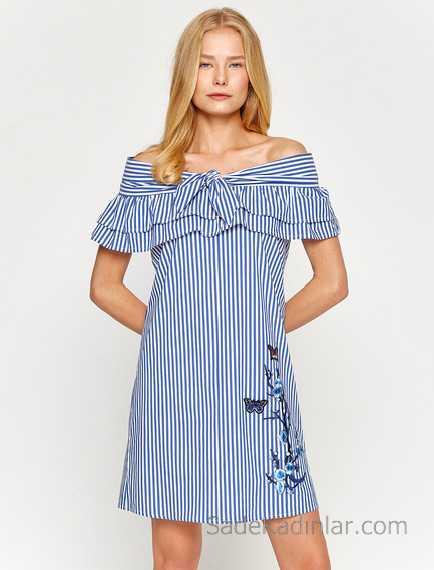 e8952690396ef 2018 Koton Elbise Modelleri İle Her Mevsim Şıklığı Yakalayın ...
