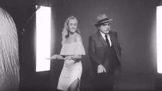 Meryem Uzerli ve Haluk Bilginer'den Dans Show