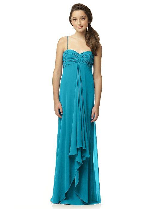 Mezuniyet Elbise Modelleri Cam Göbeği Uzun Askılı Dökümlü Tüllü