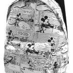 Sırt Çantası Modelleri Beyaz Mıckey Mouse Desenli
