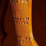Çizme Modelleri Camel Topuklu Hasır Örgülü