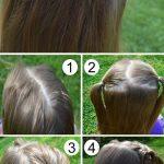 Çocuk Saç Modelleri Salık Taç örgülü